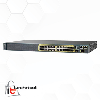 Cisco Catalyst 2960S-24TS-S Switch