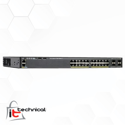 Cisco Catalyst 2960X-24PS-L Switch
